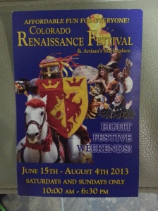 2013-7-21 CO RenFest 3 poster