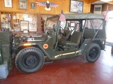 WWII jeep
