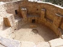 A kiva at Cliff Palace