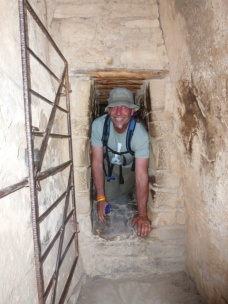 Dave re-emerges from another tunnel