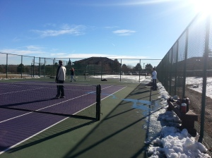 Die-hard Colorado tennis players