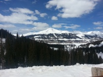 May snow on Aspen mountain - WOW!!
