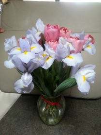 Flowers from Damien or Eva