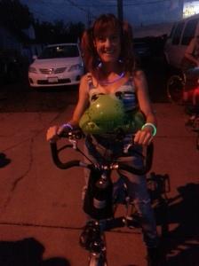Denver Cruisers Bike Ride Night #4 - Summer Camp theme