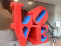 "The 1960's work of Robert Indiana that ""accidentally"" became the symbol of the 1960's Youth Movement."