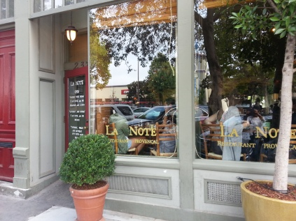 La Note Cafe in Berkeley, CA - Great place for breakfast =)