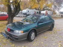 We've turned our car into Rudolph again this year =)