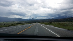 Open road Colorado