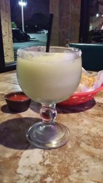 Celebratory margarita!!